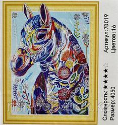 """Алмазная живопись """"Лошадь"""" 7Д 40*50 см"""
