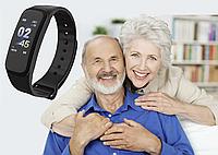 Умный браслет здоровья. 5 в 1 ( давление, пульс, кислород в крови, шагомер) Доставка бесплатно!