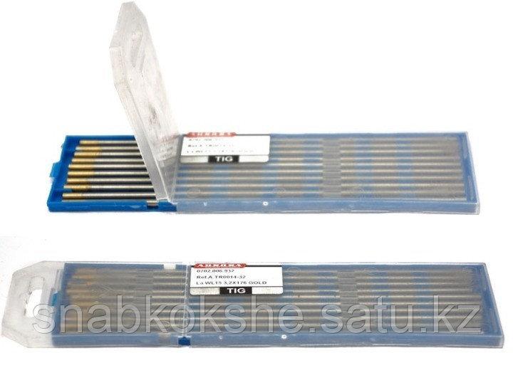 Электрод вольфрамовый WT-20 d.1,6x175mm RED