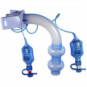 Трахеостомическая трубка  15мм коннектор с 2 мя манжетами низкого давления и высокого обьема