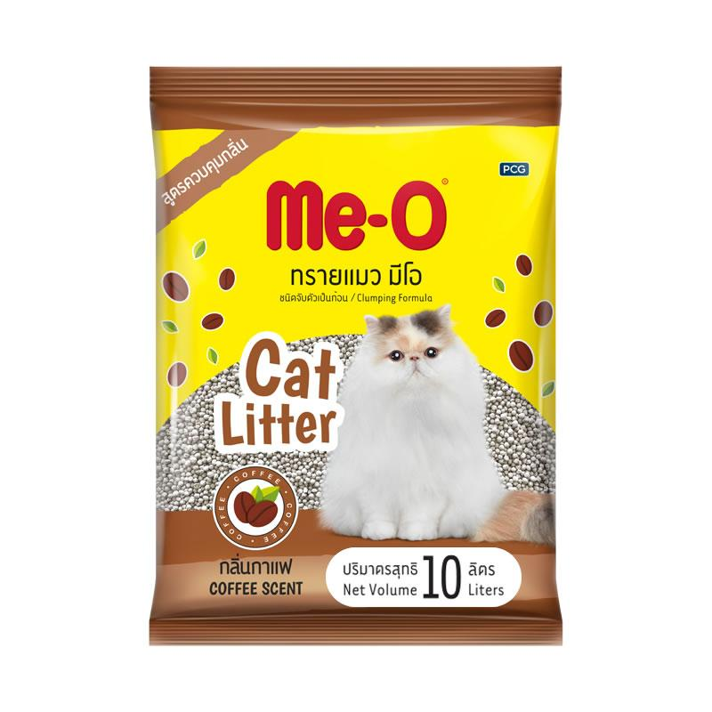 Me-O Наполнитель комкующийся Кофе, 10 л