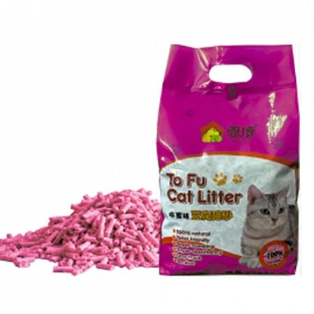 Cat Litter Тофу Наполнитель соевый, 6 л