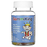 GummiKing, Мультивитамины и минералы для детей, 60 жевательных таблеток