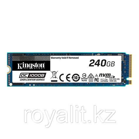 Твердотельный накопитель SSD 240 Gb, M.2 2280, Kingston DC1000B, SEDC1000BM8/240G NVMe PCIe, фото 2
