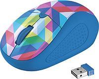 Мышь беспроводная Trust Primo синий