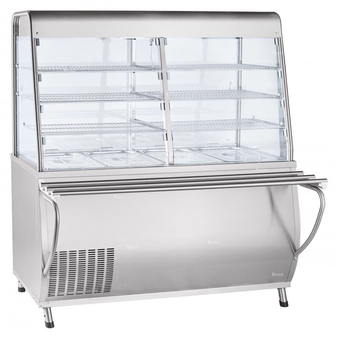 Прилавок-витрина холодильный ABAT «Премьер» ПВВ(Н)-70Т-С-01-НШ
