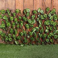 Ограждение декоративное, 120 × 70 см, «Лист осины», Greengo