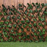 Ограждение декоративное, 120 × 70 см, «Лист ольхи», Greengo