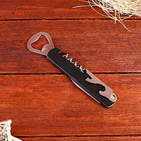 Набор туриста 4в1: нож, штопор, две открывалки