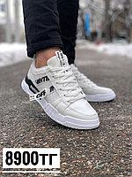 Кросс off white бел чер полос