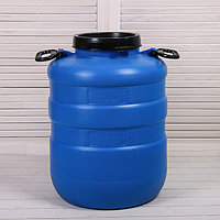 Фляга пищевая, 40 л, горловина 18.5 см, синяя