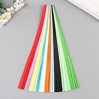 """Полоски для квиллинга """"Цветные"""" (в наборе 200 полосок), ширина 0,8 см, МИКС"""