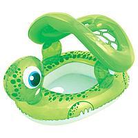 Круг для плавания «Черепаха», с сиденьем и тентом , 74 х 66 см, от 1-2 лет, 34094 Bestway