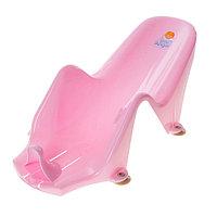 Горка для купания «Дельфин», цвет розовый