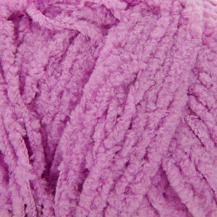 """Пряжа """"Softy"""" 100% микрополиэстер 115м/50гр (672 нежно-роз.) - фото 1"""