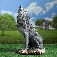 "Садовая фигура ""Волк воющий"" 19х30х52см"