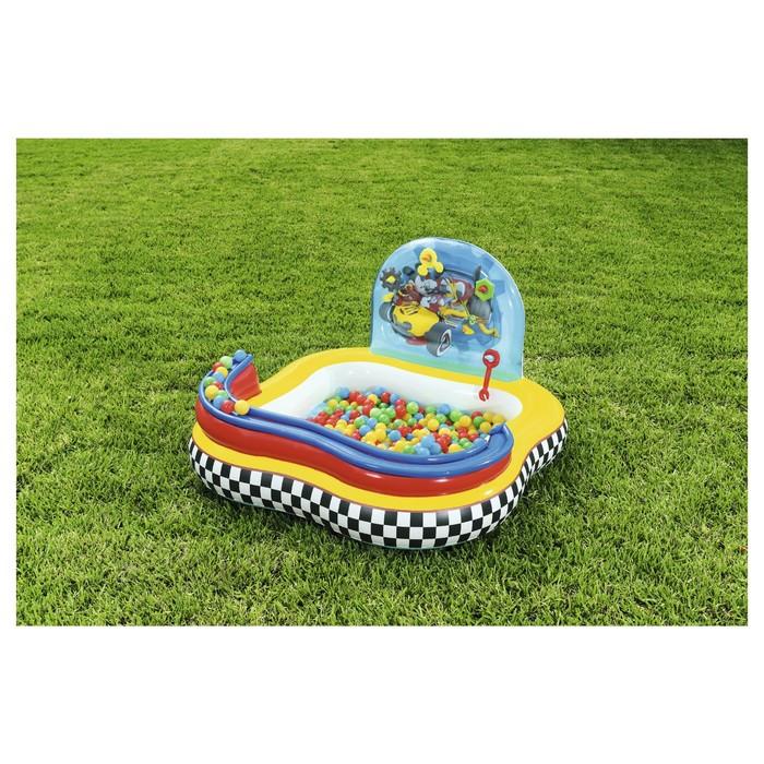 Бассейн надувной игровой «Микки Маус», 157 х 157 х 91 см, игрушки, 6 шариков, от 3 лет - фото 3