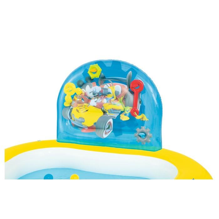 Бассейн надувной игровой «Микки Маус», 157 х 157 х 91 см, игрушки, 6 шариков, от 3 лет - фото 4