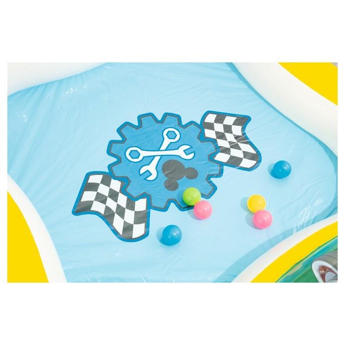 Бассейн надувной игровой «Микки Маус», 157 х 157 х 91 см, игрушки, 6 шариков, от 3 лет - фото 5