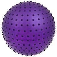 Фитбол, ONLITOP, d=55 см, 600 г, массажный, цвета МИКС