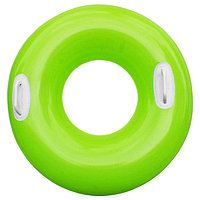 Круг для плавания «Яркое настроение», с ручками, d=76 см, от 8 лет, цвета МИКС, 59258NP INTEX