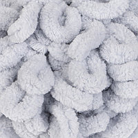 "Пряжа ""Puffy"" 100 % микрополиэстер 9м/100г (416 серый)"