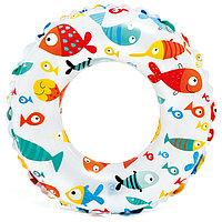 Круг для плавания «Яркий», d=61 см, от 6-10 лет, цвета МИКС, 59241NP INTEX