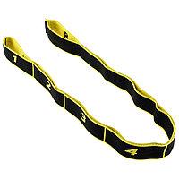 Эспандер-лента эластичная с захватами 90 х 4 см, MEDIUM, цвет жёлтый