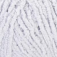 """Пряжа """"Softy"""" 100% микрополиэстер 115м/50гр (416 серый)"""