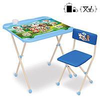 Набор мебели «Кто чей малыш?»: стол, стул