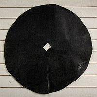 Круг приствольный, d = 0,6 м, плотность 60 г/м², спанбонд с УФ-стабилизатором, набор 10 шт., чёрный,