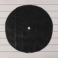 Круг приствольный, d = 1,2 м, плотность 60 г/м², спанбонд с УФ-стабилизатором, набор 5 шт., чёрный, «Агротекс»