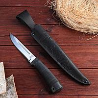 Нож охотничий «Сталкер» Н58, ст. ЭИ-107, рукоять текстолит, микропора, 25,5 см