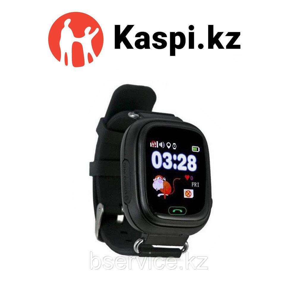 Детские GPS часы Q90 чёрные