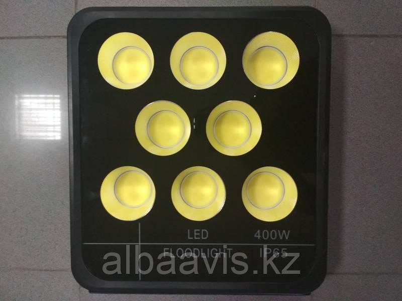 Прожектор светодиодный, светодиодный софит 400 W. Прожектора для стройки, прожектор на сто