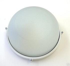 Светильник 1301 Банник НПП 03-60-013 IP65 круг мал. корпус белый ГИ 03252