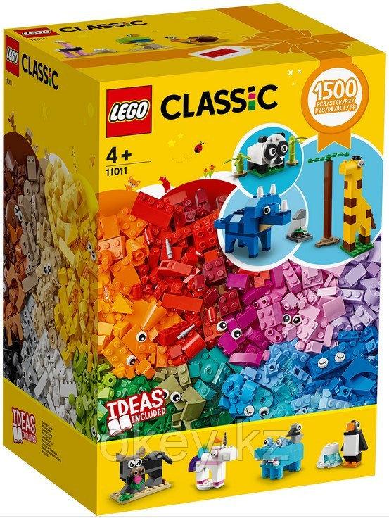 LEGO Classic: Кубики и зверюшки 11011