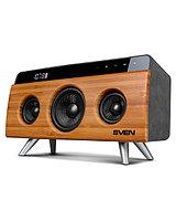 SVEN HA-930, бамбук, акустическая система, мощность 30 Вт (RMS), Bluetooth, FM, USB, LED-дисплей
