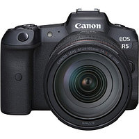 Фотоаппарат Canon EOS R5 kit RF 24-105mm F4L + Mount Adapter Viltrox EF-EOS R, фото 1