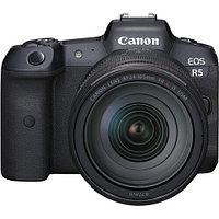 Фотоаппарат Canon EOS R5 kit RF 24-105mm F4L + Mount Adapter Viltrox EF- R 2, фото 1