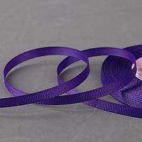 Лента репсовая, 6 мм, 22 ± 1 м, цвет фиолетовый №35