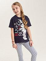 Batik Комплект футболка и леггинсы для девочки (02772_BAT)