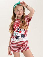 Batik Комплект футболка и шорты для девочки (02773_BAT)