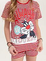 Batik Комплект футболка и шорты для девочки (02779_BAT)
