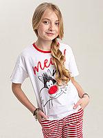 Batik Комплект футболка и капридля девочки (02783_BAT)