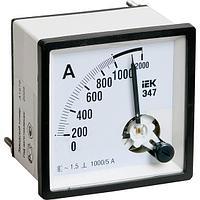 Амперметр щитовой IEK Э47 50А AC аналоговый