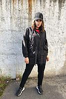 Женский осенний трикотажный спортивный большого размера спортивный костюм Runella 1430 46р.
