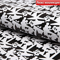 "Бумага упаковочная глянцевая ""Микки"", Микки Маус, 70х100 см"
