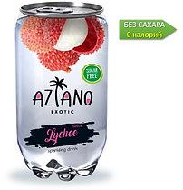 AZIANO  Lychee Личи 350 ml. /Прозрачная Банка/ (24шт-упак)