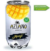 AZIANO  Mango Манго 350 ml. /Прозрачная Банка/ (24шт-упак)